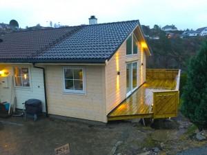 Tilbygg i Drotningsvik